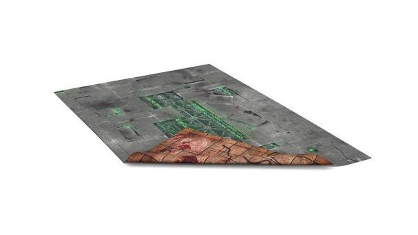 """22""""x30"""" Double Sided G-Mat: ChemZone and Necropolis"""