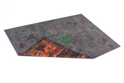 6'x4' Double Sided G-Mat: ChemZone and Necropolis