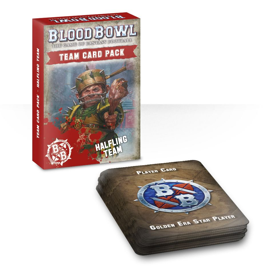 Blood Bowl: Halfling Team Cards