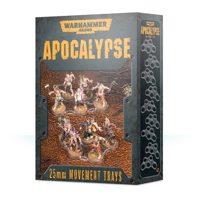 Apocalypse Movement Trays - 25mm