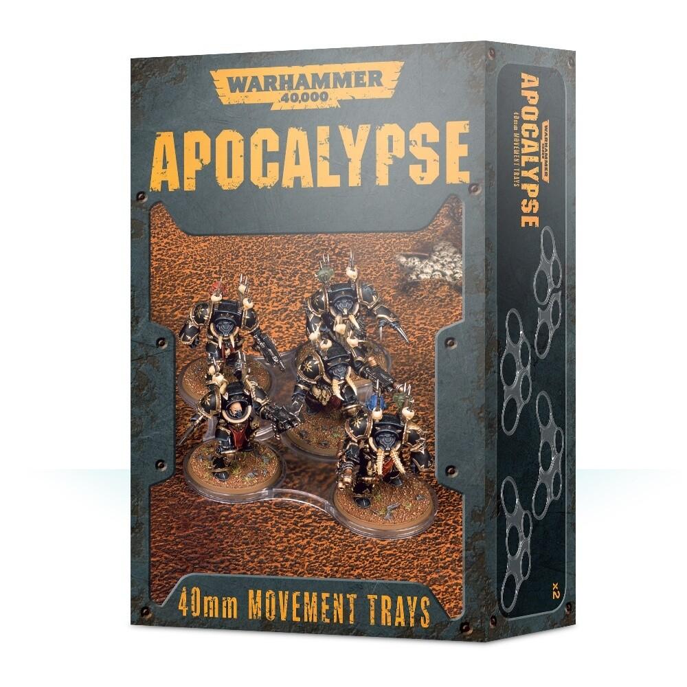 Apocalypse Movement Trays -40mm