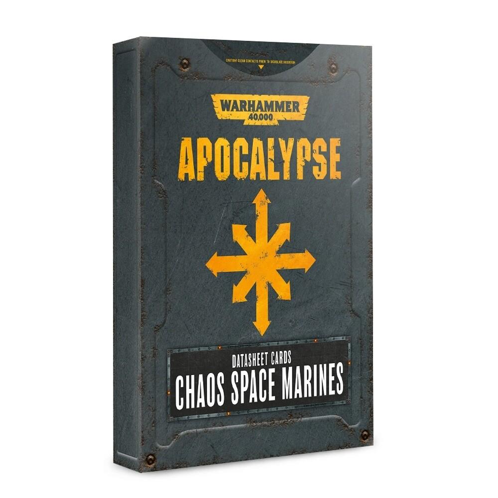 Apocalypse Datasheets: Chaos Space Marines