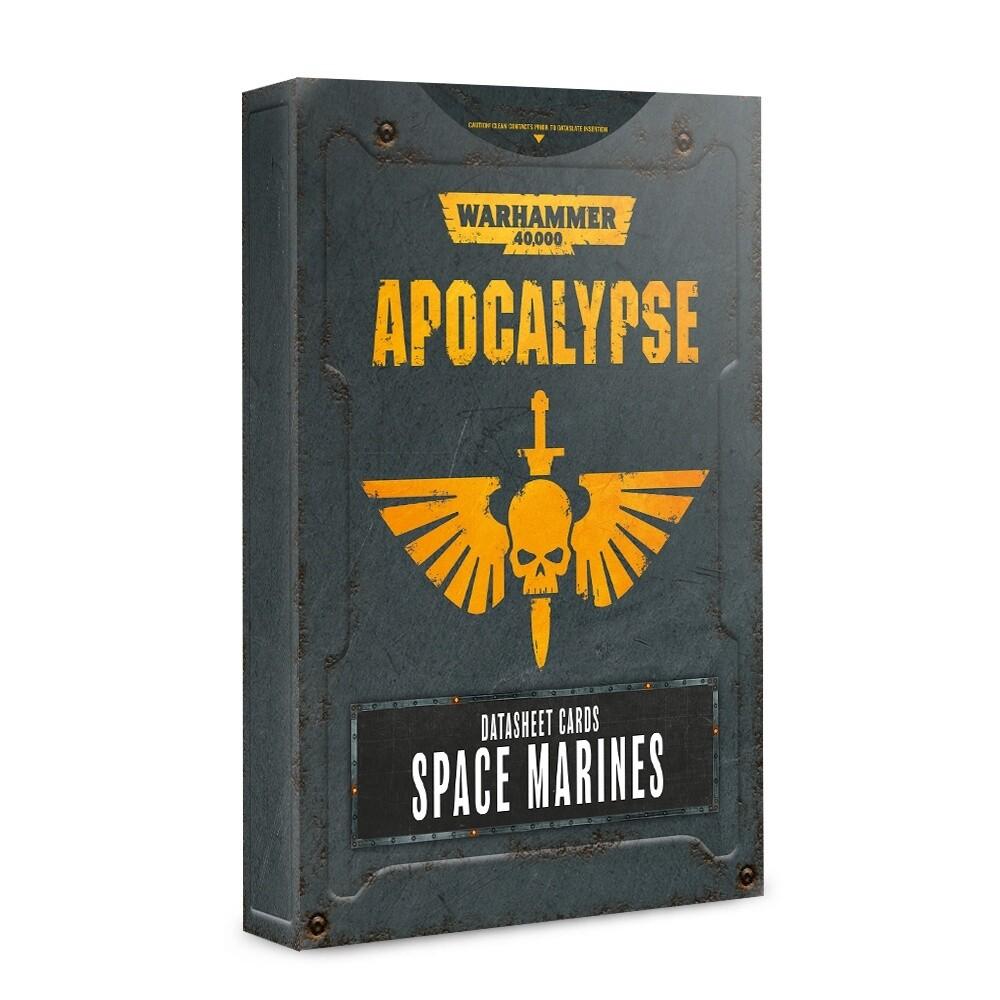 Apocalypse Datasheets: Space Marines