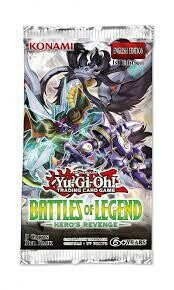 Battles of Legend: Heroes Revenge- Booster pack