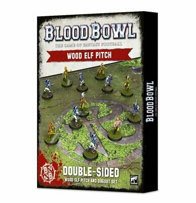Blood Bowl: Wood Elf Team Pitch & Dugouts