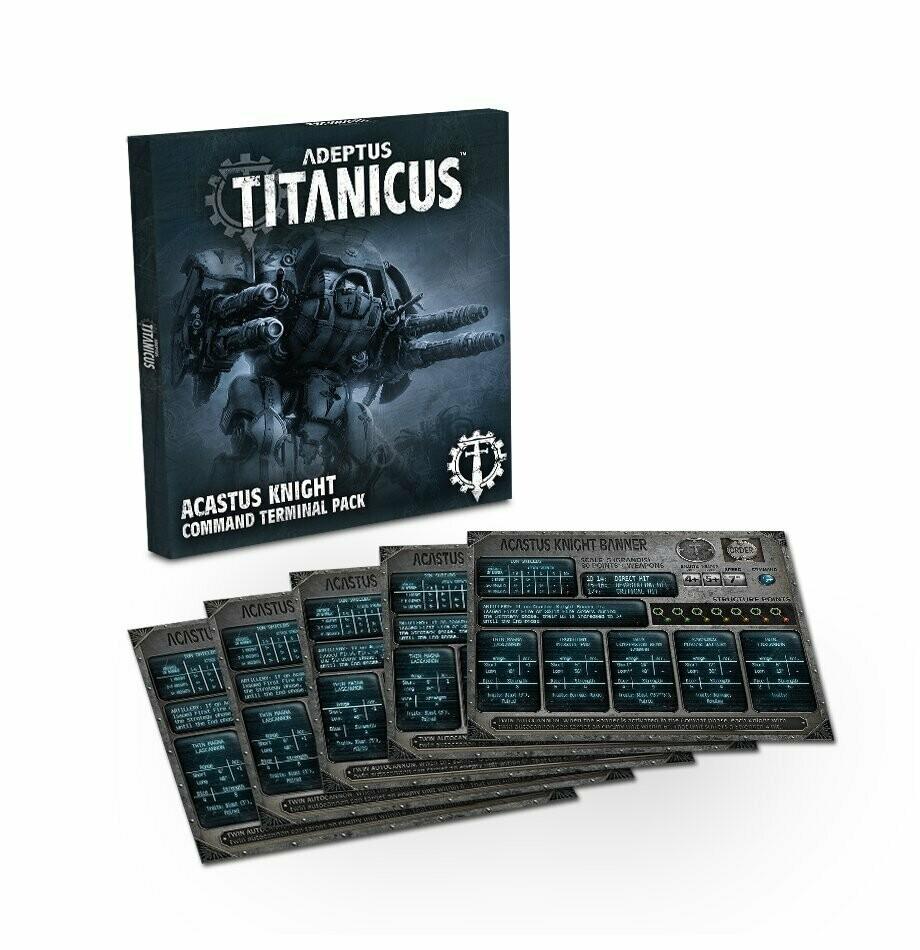 Acastus Knight Command Terminal Pack