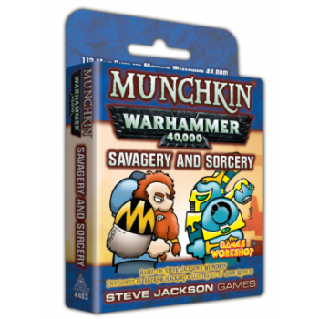 Munchkin Warhammer 40,000 – Savagery and Sorcery - EN