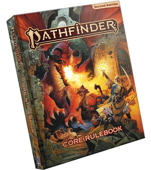 Pathfinder: 2nd Edition Core Rulesbook