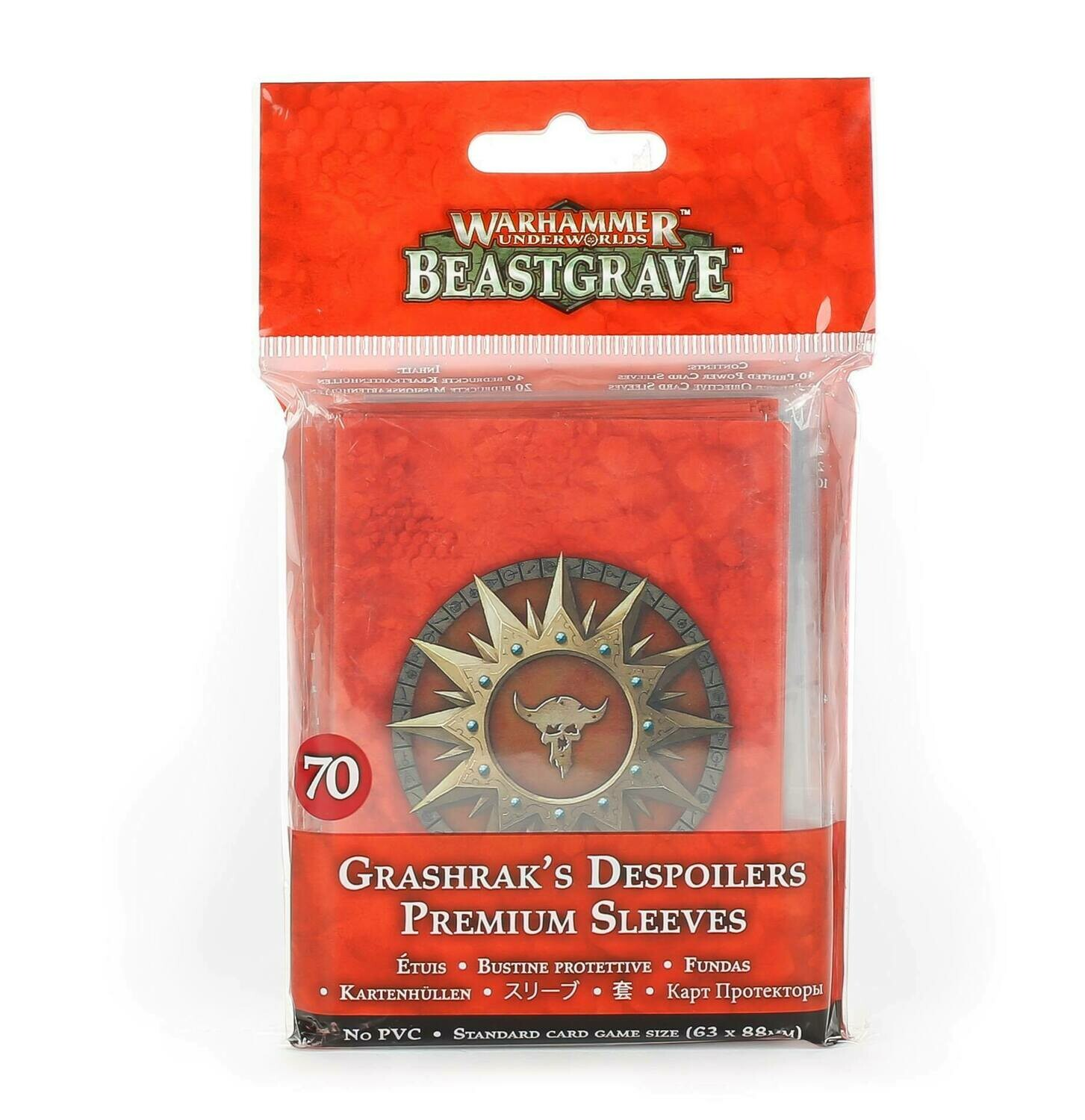 Grashrak's Despoilers Sleeves Pack