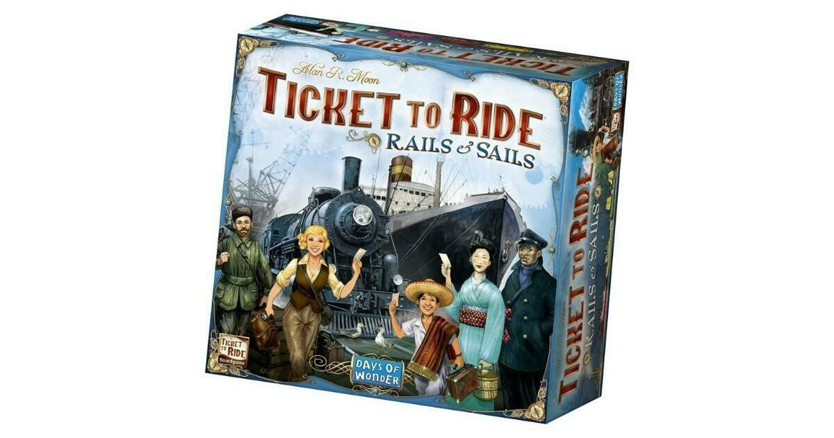 Ticket To Ride Rails & Sails (ENG)
