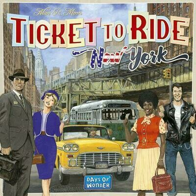 Ticket To Ride New York (ENG)