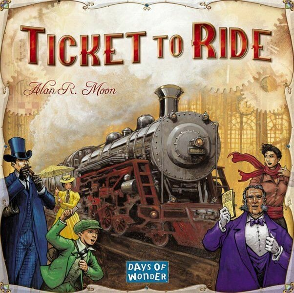 Ticket To Ride USA (ENG)