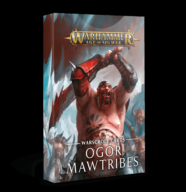Ogor Mawtribes Warscroll Cards