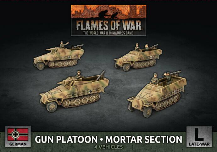 Sd Kfz 251 Mortar Platoon (x4)