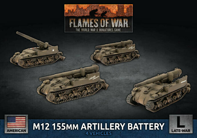 M12 155mm Artillery Battery