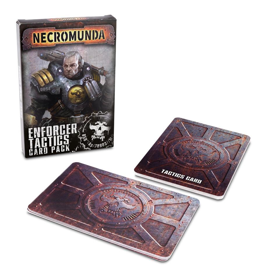 Enforcer Patrol Tactics Cards