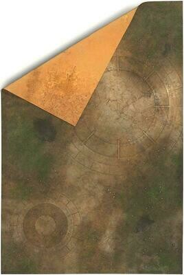 6'x4' Double Sided G-Mat: Lost World and Sands of Time