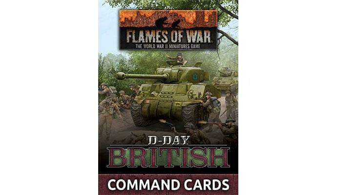 D-Day: British Command Cards