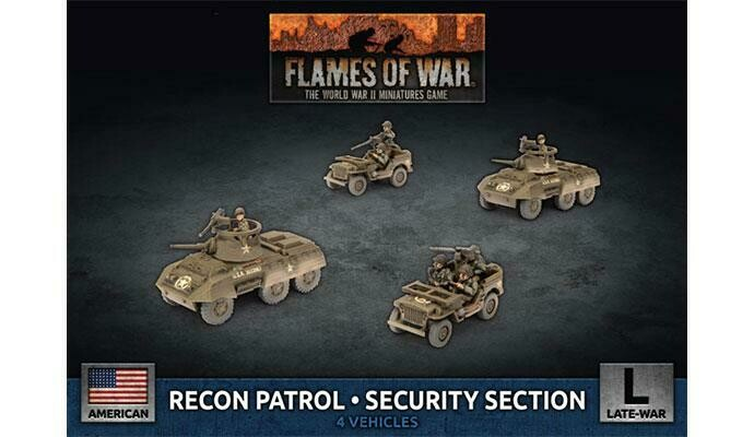 Recon Patrol - Security Section (Plastic)