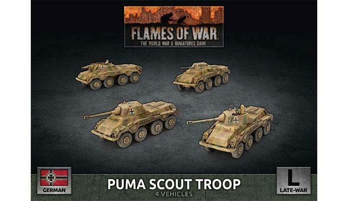 Puma Scout Troop (Plastic)
