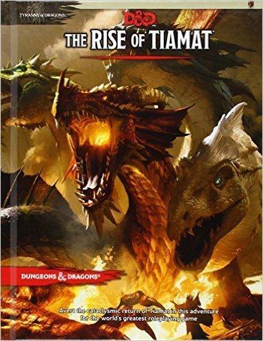 D&D 5th Ed. Rise of Tiamat (HC)
