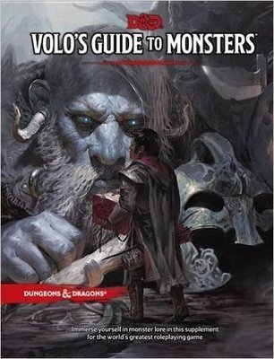 D&D Volo's Guide to Monster