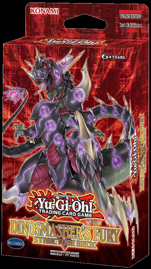 Structure Deck -  Dinosmasher's Fury YGO-SR3/4-EN