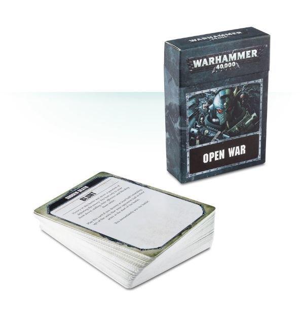 WARHAMMER 40000: OPEN WAR CARDS