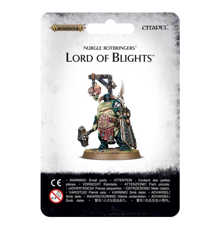 Nurgle Rotbringers: Lord of Blight
