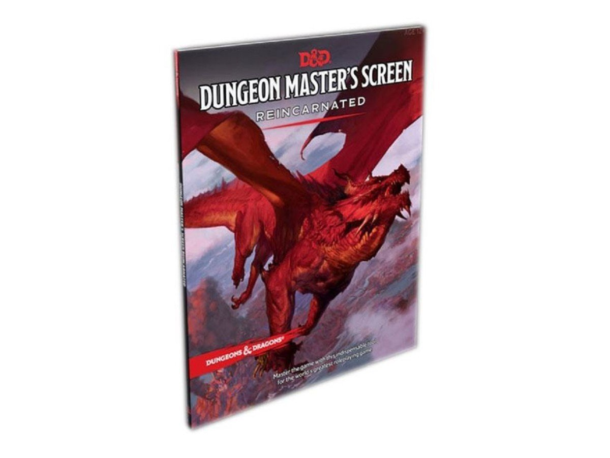 D&D 5th edition: Dungeon Masters Sreen - Reincarnated