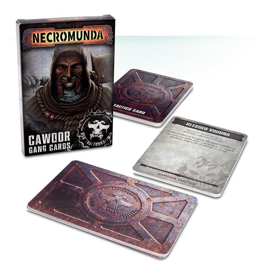 Necromunda: House Cawdor Cards