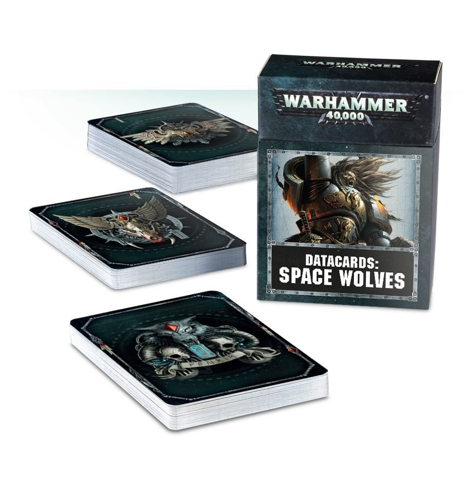 Space Wolves: Data Cards