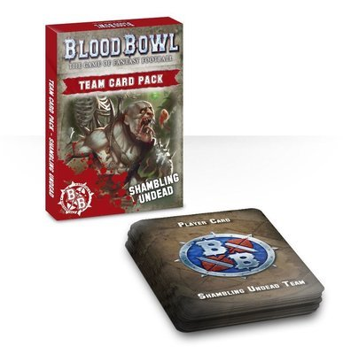 Blood Bowl: Undead Cards