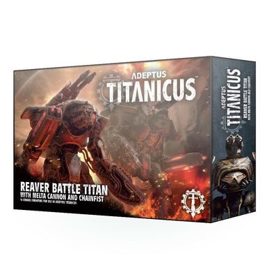 Reaver Battle Titan with Melta Cannon & Chainfist