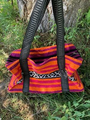 Saddle Blanket Bag - Pink