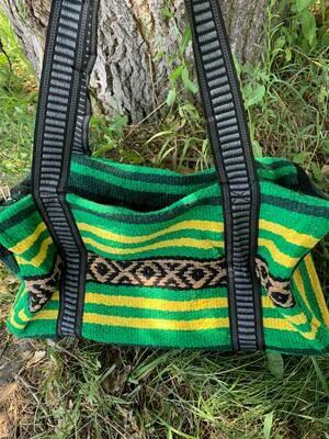 Saddle Blanket Bag - Green