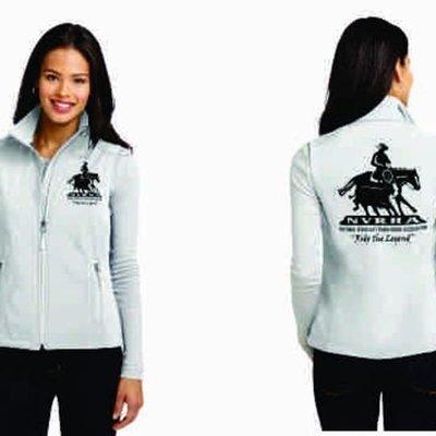 Ladies Soft Shell NVRHA Vest