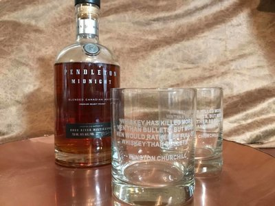 Whiskey Glasses - CUSTOM