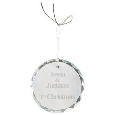 Circle Crystal Ornament