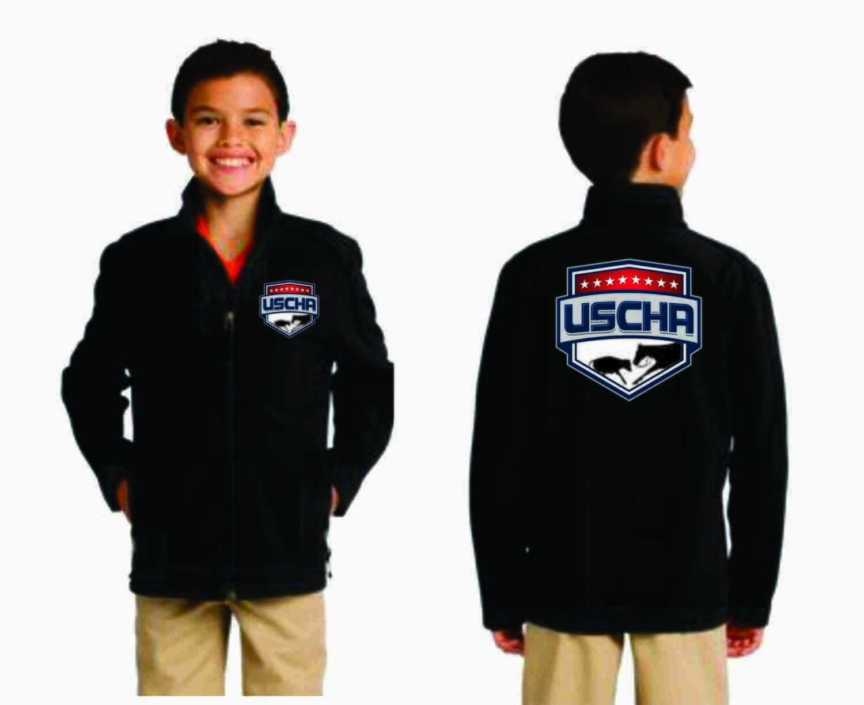 Youth Soft Shell USCHA Jacket