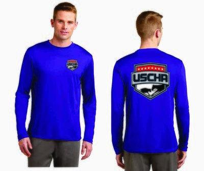 USCHA Long Sleeve Performance T-Shirt
