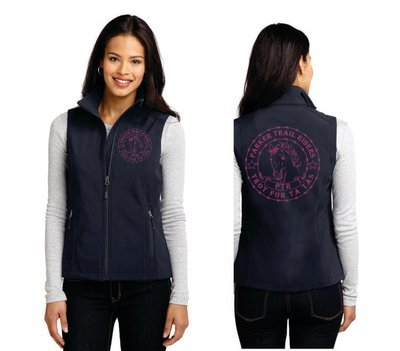 Ladies Soft Shell Vest - Ta Tas