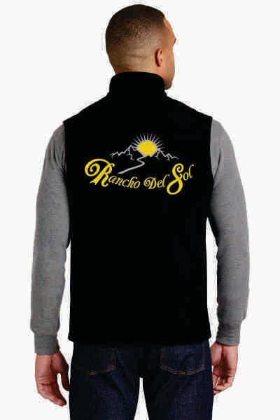 Mens Soft Shell Rancho Del Sol Vest