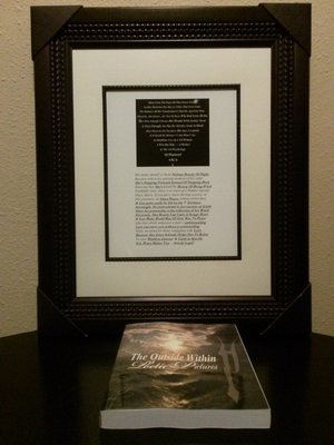 11(x)14 Standard Frame With Poem (Personalized)