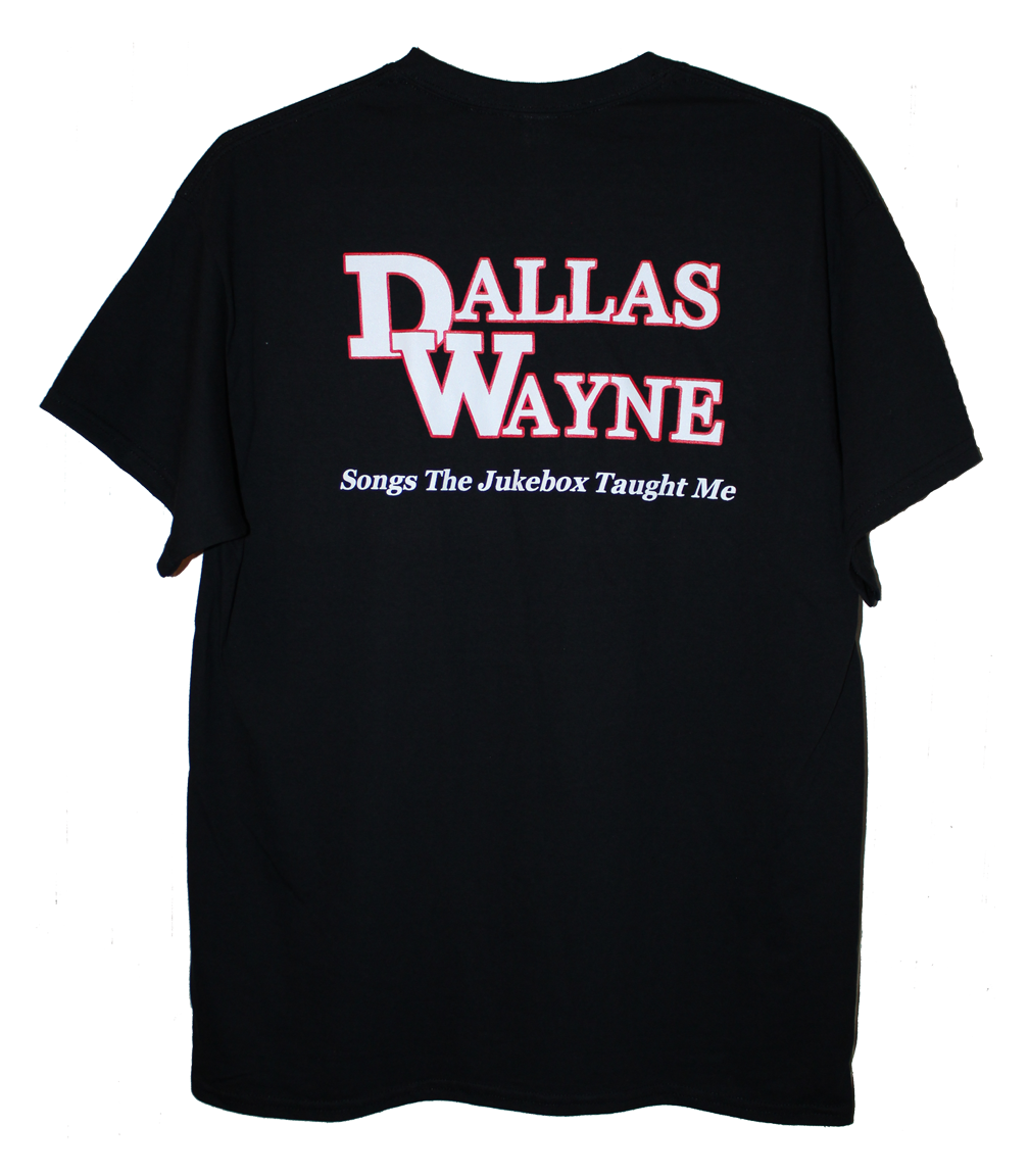 Dallas Wayne Jukebox T-shirt, Black