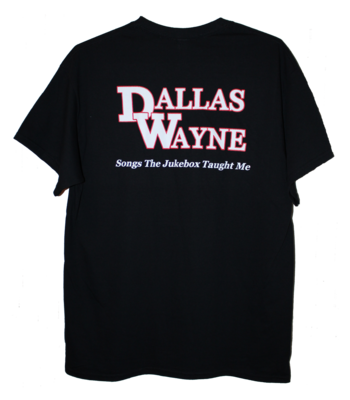 Dallas Wayne Jukebox T-shirt, Black