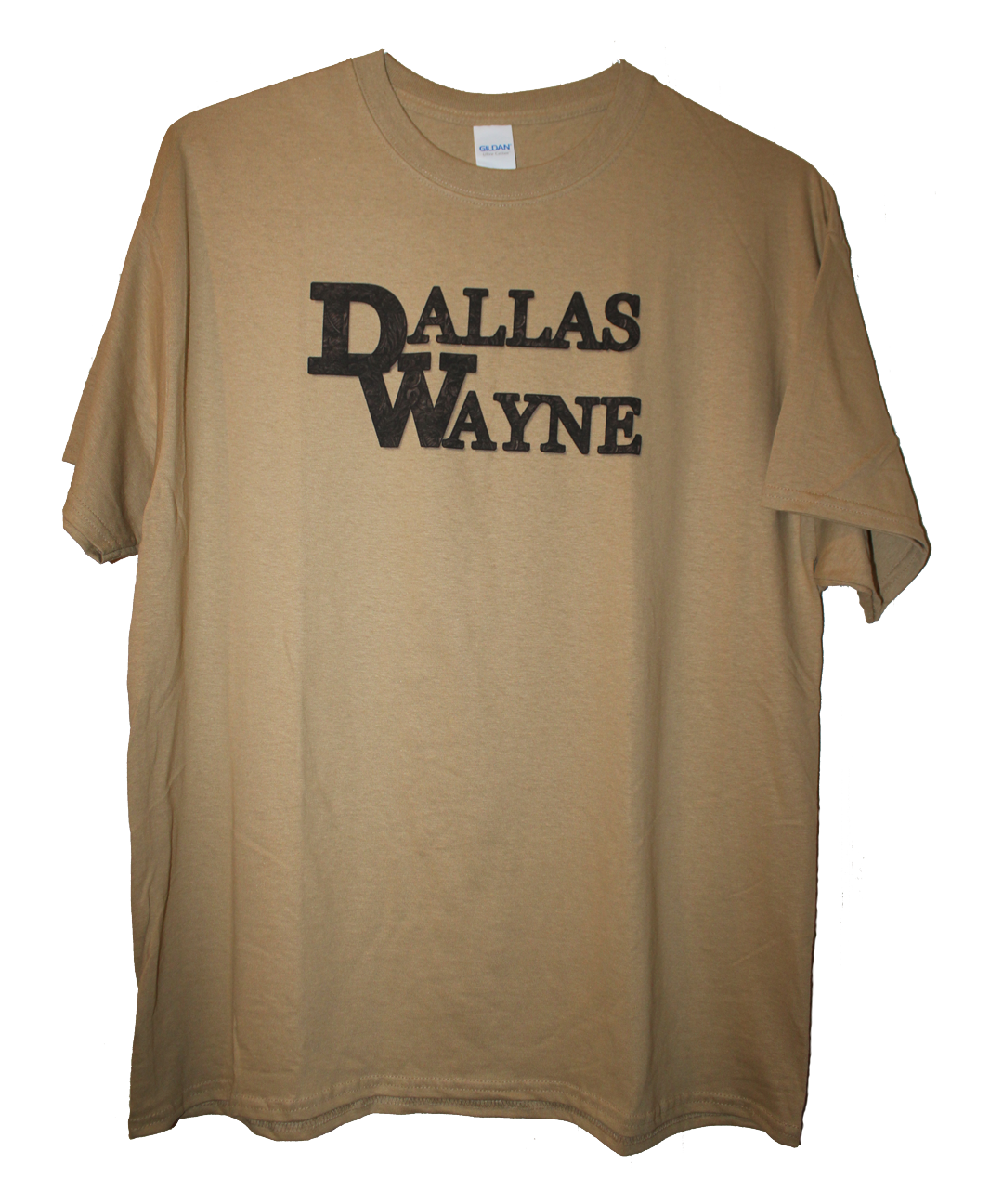 Dallas Wayne T-shirt, Tan