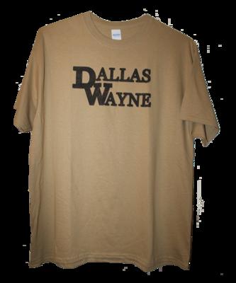 Dallas Wayne T-shirt, Tan