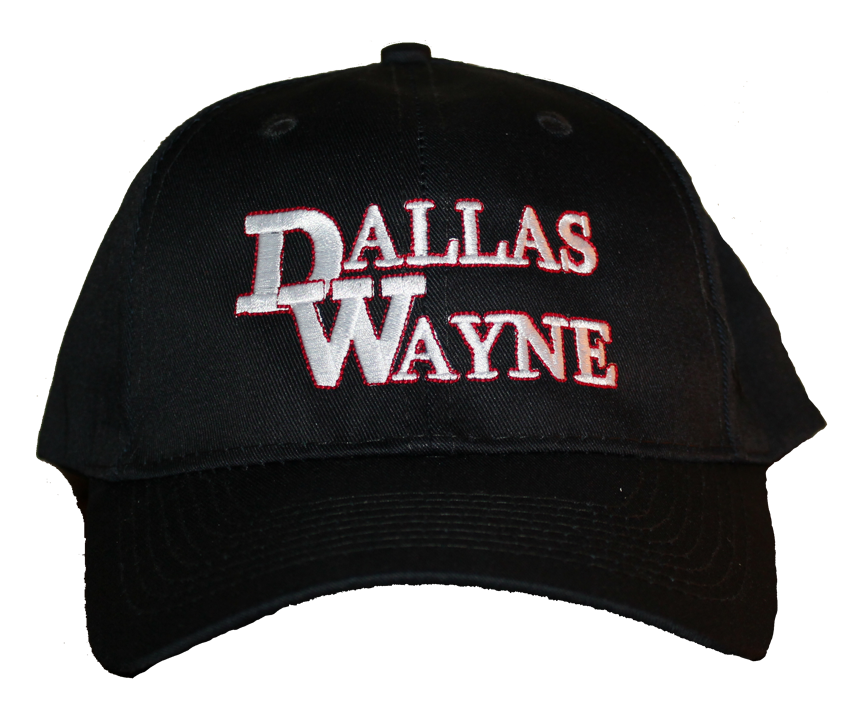 Dallas Wayne Hat, Black