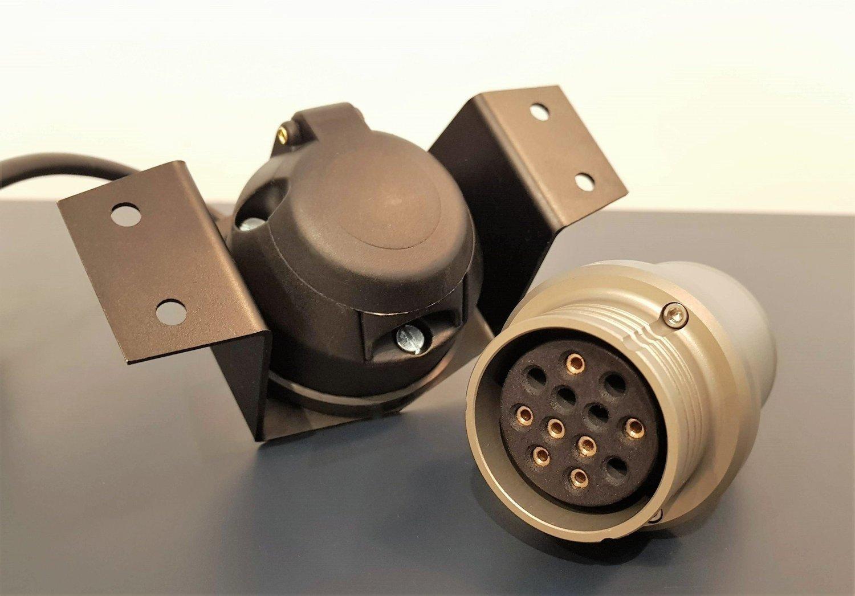 7 Pin To 12 Pin Nato Plug Adapter